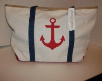 Sailcloth anchor tote