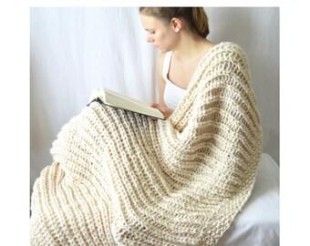 Fishermans Cove Blanket Knitting Pattern