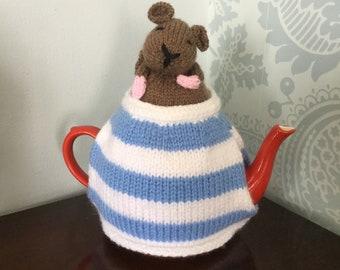 Cornish dormouse tea cosy