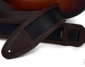 Charwood Soft Leather Custom Guitar Strap
