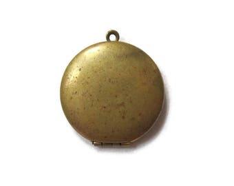 Vintage Antique Gold Coin Locket