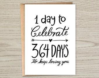 Wedding Anniversary Card - Wedding Anniversary Instant Download - Wedding Anniversary Printable Card