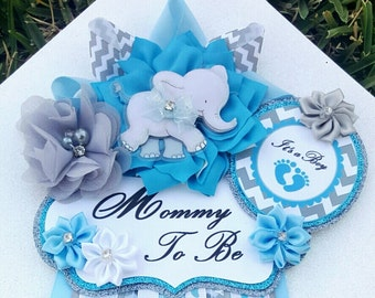 Charming Baby Shower Corsage | Etsy