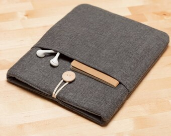 Macbook pro 15 sleeve,  Macbook 15 inch case, 15 inch laptop case, macbook 15 sleeve - Flannel jet