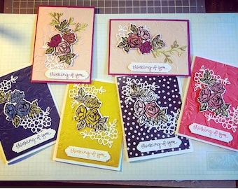 Handmade Thinking of You Cards