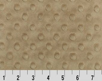 Sand Dimple Minky From Shannon Fabrics - Choose Your Cut