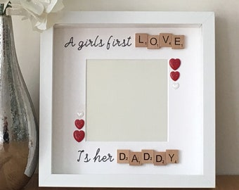 A girls first love is her daddy, daddy to be gift, first Father's Day gift, daddy daughter gift, Father's Day gift, Father daughter gift
