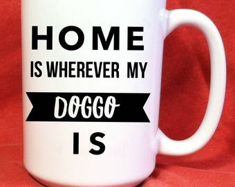 Doggo Gifts Funny Doggo Gifts We Love Our Granddog Funny Doggo Granddog Mug Puppy Animal Lover Animal Lover Gift Grandpuppy
