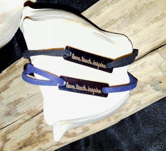 Love Teach Inspire Bracelet