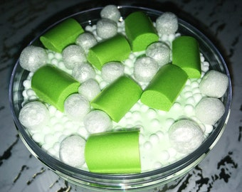 SCENTED Green Tea Pocky Chunks [Thick and Glossy]