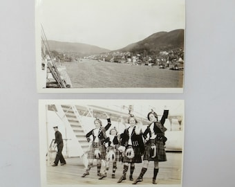 23 Vintage Photos/Snapshots of Boats, Ships, By the Water, 1920s-1960s