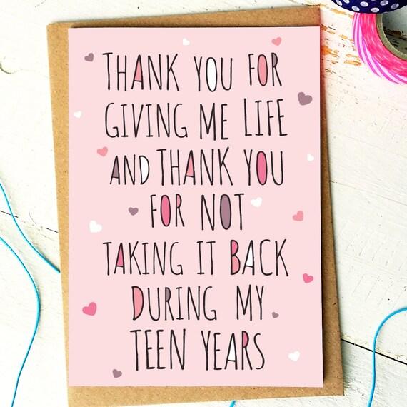 Mothers Day Card Mum Birthday Card Mum Card Mom Card