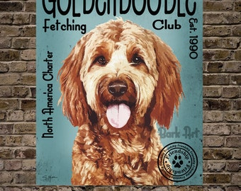 Goldendoodle Fetching Club