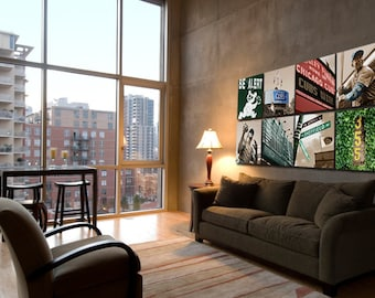Ultimate Chicago Cubs Art Collection, 8 pc. Wrigley Field Canvas, Chicago Canvas, Chicago art, Chicago Photo, Father's Day, Chicago Print