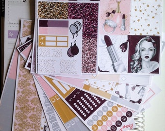 All Dolled Up **Deluxe Weekly Planner Kit**