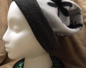 Hand Made, Slouchy, Fleece, Winter Hat