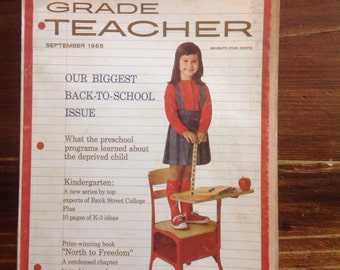 Grade Teacher Magazine, September  1965