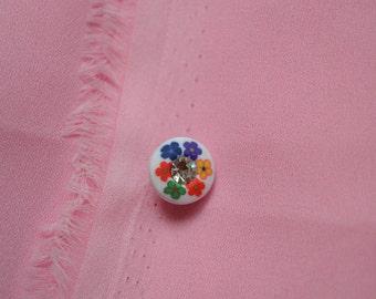 button round 12mm fancy