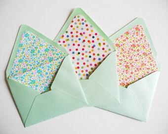 DIY Envelope Template OR Envelope Liner Kit