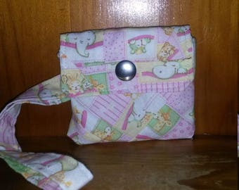 Pink Animal Coin Purse