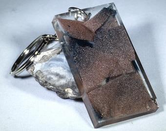 Mosaic Resin Keychain