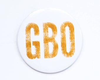 University of Tennessee- Go Big Orange Game Day Button- 3 inch