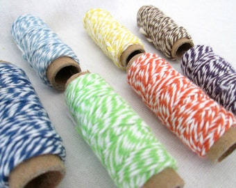 Bakers Twine Gift Tag String Party Favors Twine Craft String Scrapbooking String Baking String Card Making Ribbon Gift Wrap Crafting Supply