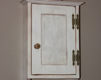 Cabinet, FREE SHIPPING, Wall, Small, Medicine, Curio, Shabby, Chic, Rustic, Primitive, Cottage