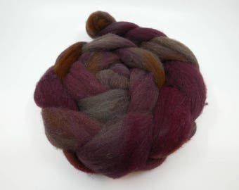 Smoked Ruby - 4oz - 114g - Combed Manx Loaghtan Top