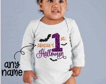 Baby Girls First Halloween Outfit, Girls First Halloween Outfit, First Halloween Outfit, Babys First Halloween Outfit, First Halloween, Baby