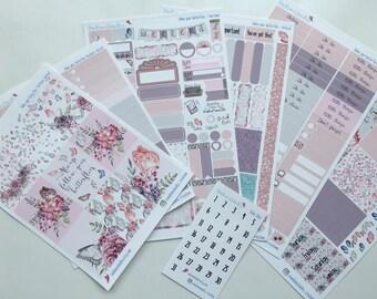 Follow Your Butterflies Weekly Sticker Kit