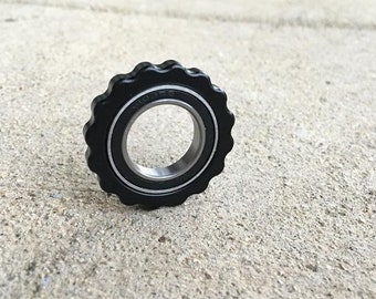 """Fidget Ring """"Kosmos"""" for Every Day Carry ,Key chain"""
