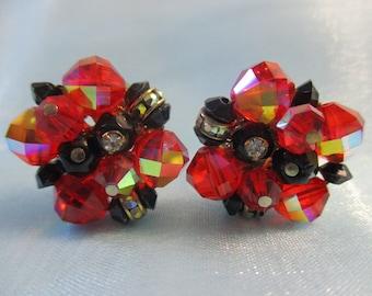 Beautiful Cluster Earrings