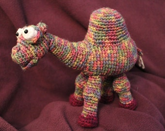 Amigurumi Crochet Pattern - Camille the Camel