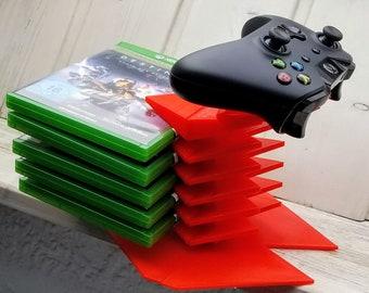 Xbox One-Controller und Spiel Stand | Controller Halterung Halter Xbox eine Xbox ein X xbox ein s-Controller Stand Controller dock Spiel Stand video