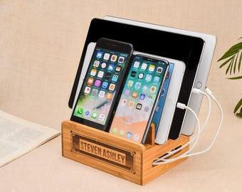 ipad dock,android dock,docking station,apple dock,gift for father,android docking,iphone dock,gift for him,charging station,iphone stand