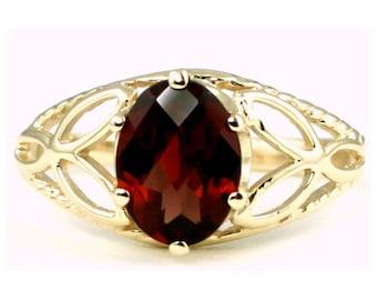 Mozambique Garnet, 10KY Gold Ring, R137