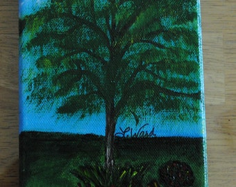 "Summer Breeze - 5""x7"" canvas"
