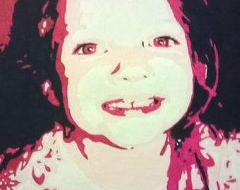 Evie - custom pop art portrait