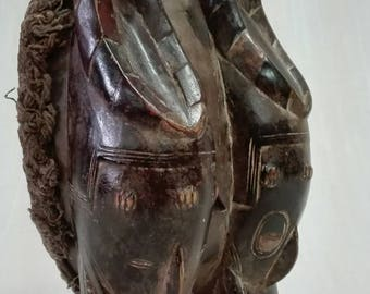 Old African mask.