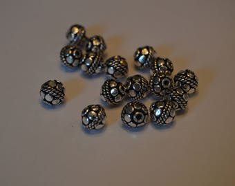 Silver Bali Beads!!!