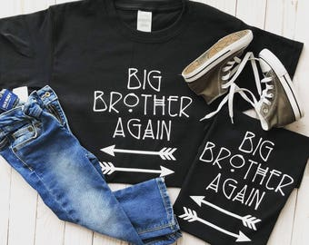 Big brother shirt/big brother/big bro/big brother/kids shirts/toddler shirt/big bro shirt/baby sister/baby brother/newborn/family shirt/