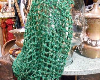Forest Green Snood Hair Net