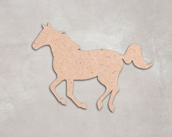 Wooden horse etsy wooden horse cutout shape unfinished craft supplies figure decoration 2 solutioingenieria Choice Image