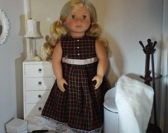"""Assez en Plaid--parfait pour poupées 18"""""""