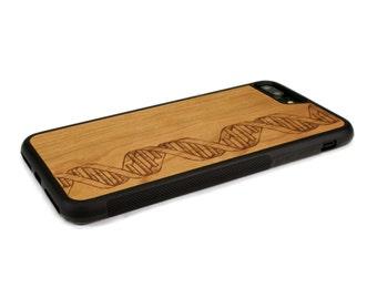 iPhone 7 Plus Case Wood DNA, Wood iPhone 7 Plus Case, iPhone 7 Plus Wood Case
