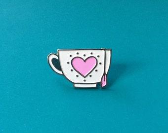 Teacup Enamel Pin