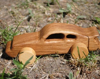 Car toy-Car-wooden car toy-wood car-waldorf car-Porsche car- car toys-automobile toy