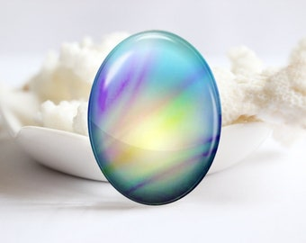 Handmade Oval Photo glass Cabochons Image Glass Dome 30x40mm 18x25mm 13x18mm 10x14mm- (P3852)