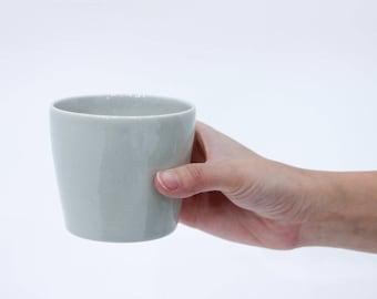Small Grey Ceramic Tumbler